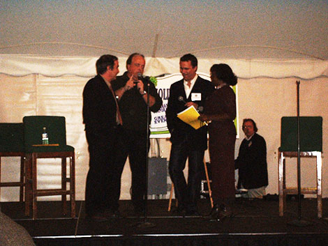 Rick Kogan, Steve Cochran, Richard Roeper, Sylvia Ewing
