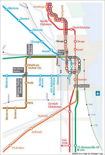 Subway Map Pdf Chicago.A Cta Map For 2055 Gapers Block Detour Chicago