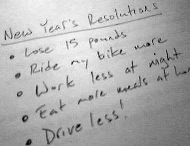 Tips For Making & Keeping New Year's Resolutions
